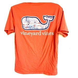 Vineyard Vines lighthouse pocket tee xs